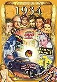 1934flickback DVD Grußkarte: Ideal für Geburtstag oder Jahrestag