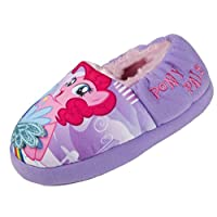 My Little Pony Glitter Wings Girls Slippers