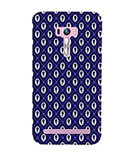 ifasho Designer Phone Back Case Cover Asus Zenfone Selfie ZD551KL ( Stay Away from My Phone Quotes )