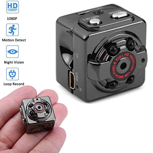 Mini Kamera mit Bewegungserkennung, 1080P HD Kleinen Kamera/Spy Cam/Bewegungs Kamera/Kamera für...