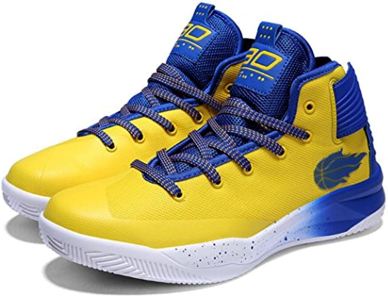 GAOLIXIA Mallas de baloncesto de los pares de los hombres Zapatillas de deporte antideslizantes de verano Zapatos...