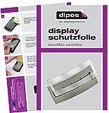 dipos I 2X Schutzfolie klar passend für Jura J6 J9 J9.4 J9.3 J90 J95 J500 XJ9 Tropfblech Folie Displayschutzfolie