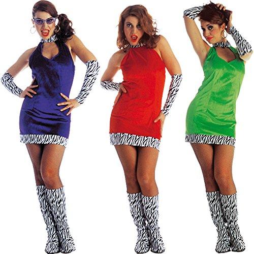 /M-Kostüm Gogo Girl Velours Größe M passender ()