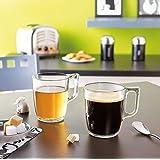 Luminarc Nuevo Glass Mugs Set (2, 320 ml)