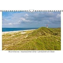 Nordsee - Impressionen einer Landschaft am Meer (Wandkalender immerwährend DIN A4 quer): Landschaften an der Nordsee im Jahresverlauf. (Monatskalender, 14 Seiten) (CALVENDO Orte)