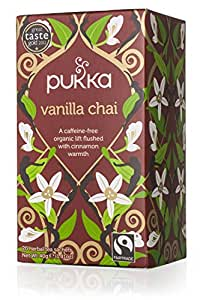 Pukka Fair Trade Vanilla Chai, 20 Tea Bags