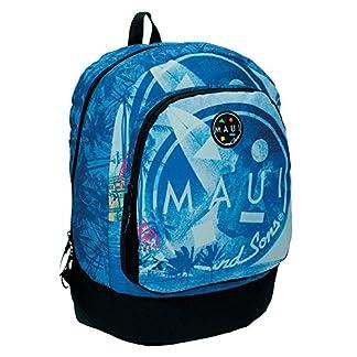 510bmETMZ1L. SS324  - Maui Surf Mochila Escolar, 21.29 litros, Color Azul