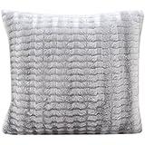 2pcs funda de almohada sofá cintura Throw Cojín para decoración del hogar, gris, 43cmx43cm