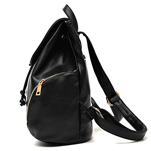 Vvting, Borsa a zainetto donna Black