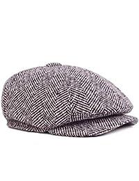 BoBo-88 Cappello Classico da Uomo Cappello da Caccia per Cappello  Ottagonale Cappello Giornali da Unique Stlie… cdb632ed4451