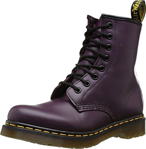 Dr. Martens 1460 Original Unisex Adult Ankle Boots, Purple, 7 Uk (41 Eu)