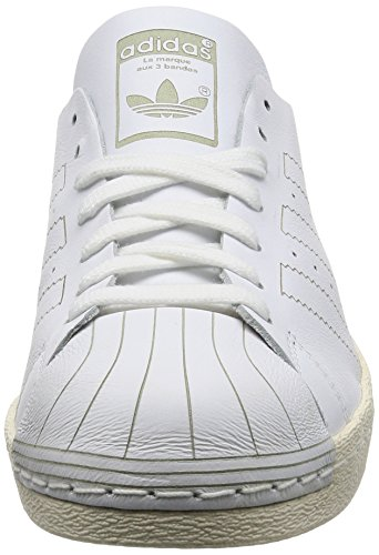 adidas Superstar 80s Decon, Sneakers Basses Homme Blanc