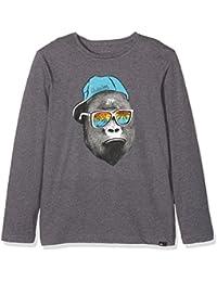 Quiksilver Kong Business T-Shirt Garçon Medium Grey