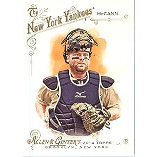 2014 Topps Allen & Ginter Baseball Card # 297 Brian McCann, New York Yankees