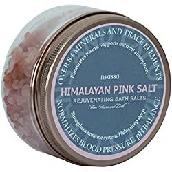 Nyassa Himalayan Pink Salt with essential minerals, 220g