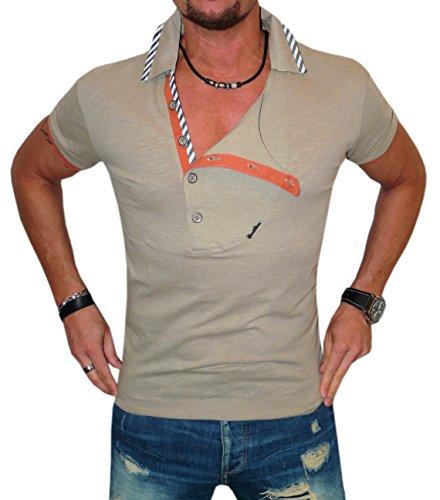 Cipo&Baxx T-Shirt Top Herren Super Optik Grössen S-M-L-XL Khaki