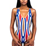 TWIFER Damen Badeanzug Push Up Bikini Bademode Bade Monokini Mit Bügel