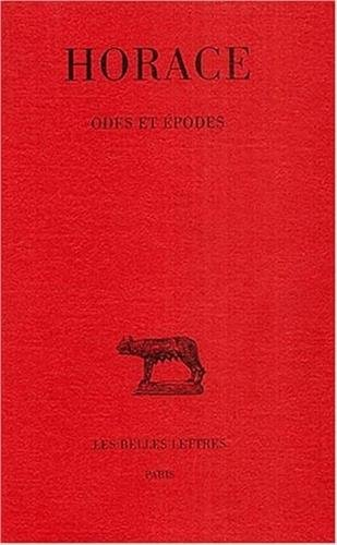 Odes Et Epodes [Pdf/ePub] eBook