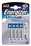 Energizer Ultimate Lithium-Batterie AAA Micro 1,5 Volt im 4er-Pack
