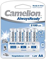 Camelion Rechargeable Battery AA 2100mAh 4pc