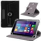 UC-Express Tablet Tasche f Jay Tech CANOX Tablet PC 101 Hülle Schutz Case Cover Schutzhülle, Farben:Schwarz