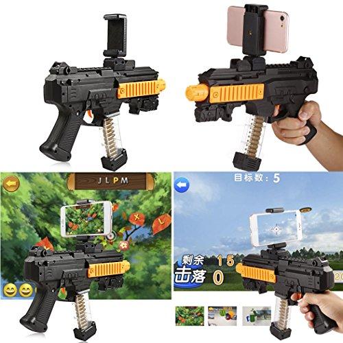 cooshional Tragbare AR Gun,Augmented Reality Gun,Smartphone Schießen Spielzeug Gewehr für Android iOS Handys
