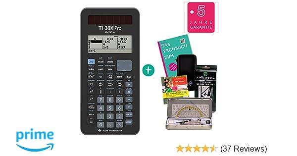 erweiterte Garantie Fachbuch TI 30 X Plus Mathprint