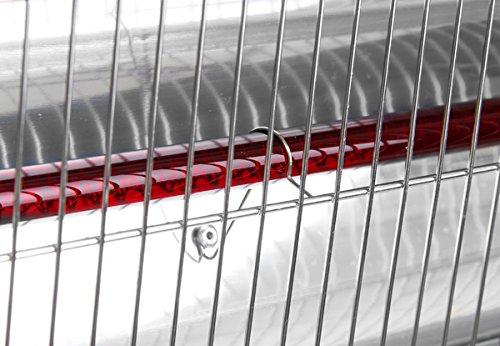 Primrose Firefly 1.800 Watt Infrarot-Heizstrahler (Halogen) Terrassenheizung, Wandmontage, inkl. Fernbedienung - 7