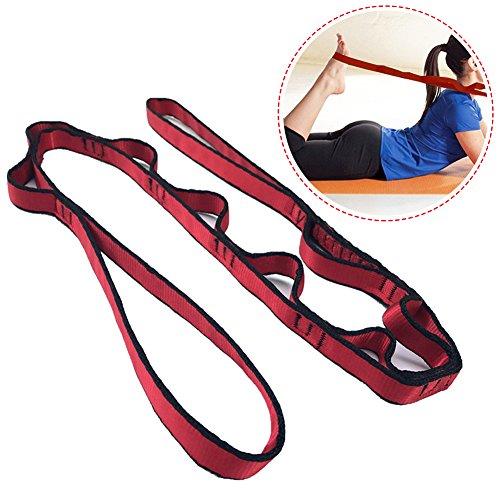 Fastar Yoga Dance étirement Sangle Multi-loop Espacer Sangle ceinture Assisté le meilleur pour Home Fitness, yoga, danse, Pilates, Thérapie physique