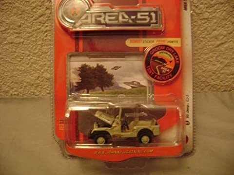 Johnny Lightning Area-51 1966 Jeep CJ-5 by