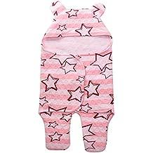 Aikexin Bebé Mnanita Arullo Sleeping Bag Saco Bolsa Pack de Dormir Swaddle Blanket Wrap Envolvente con