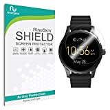 #5: RinoGear Premium HD Invisible Clear Shield Fossil Q Marshal Screen Protector [6-PACK] Full Coverage [Military-Grade] w/ Lifetime Replacements