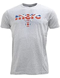 Merc of London Broadwell - T-shirt - Uni - Col ras du cou - Manches courtes - Homme