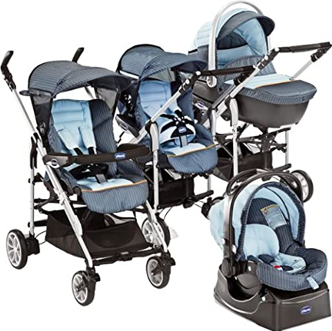 Chicco 79273480000 - Buggy Trio For Me Chelsea (Chicco Trio)