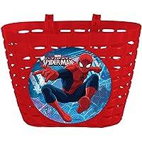 Spider-Man 35683Sweethearts Cesta para Bicicleta niños Hombre Araña