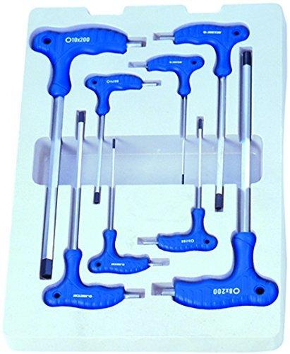 Pro Hex Set (KT Pro Tools 22208MR 8-Piece L-Handle Hex Key Set by KT Pro Tools)