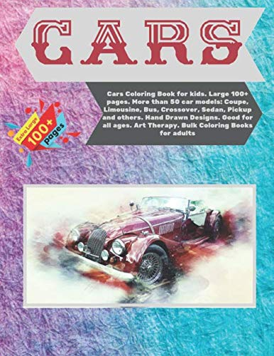 Cars Coloring Book for kids. Lar...