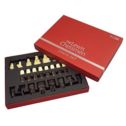 La oficial Lewis Piezas de ajedrez De Tamaño Medio