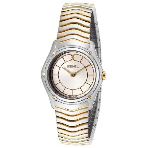 Ebel 1256F22-16325 - Reloj para mujeres, correa de acero inoxidable color plateado