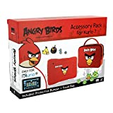 KURIO MERONCOURT Angry Birds Schutz Haut Bumper Accessory Pack für 7–Rot