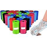 takestop® Set 450Stück Taschen Beutel hygienisch Hundekotbeutel Hunde Katzen Sammlung Fäzes zufällige Farben