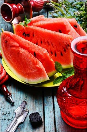 Acrylglasbild 20 x 30 cm: Wassermelone von Colourbox (Wassermelone Shisha-kohlen)