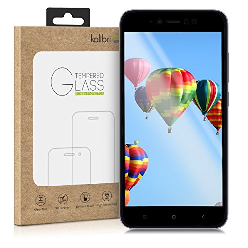 kalibri-Echtglas-Displayschutz-fr-Xiaomi-Redmi-Note-5A-4G-High-Edition-3D-Schutzglas-Full-Cover-Screen-Protector-mit-Rahmen-Glas-Folie-Auch-fr-gewlbtes-Display-in-Schwarz