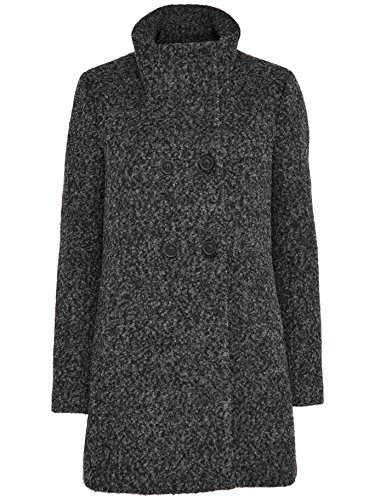 ONLY -  Cappotto  - trench - Donna Grigio scuro mélange 42