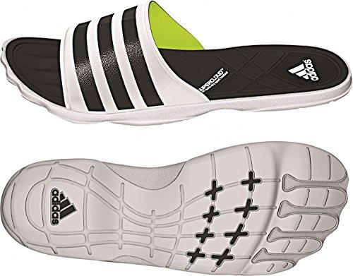 adidas - Adipure Slide M, Sandali Uomo Blanco / Negro / Lima