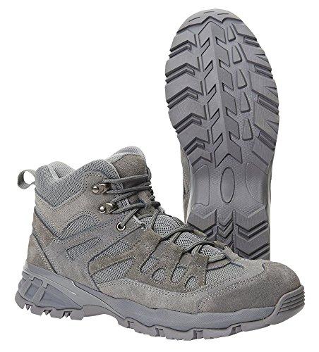 Brandit Herren Schuhe Outdoor Trail Mid, Color:anthrazit;Größe:43