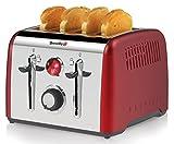 Breville Opula 4 Slice Toaster, Red