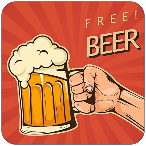 Bierdeckel selber gestalten und bedrucken lassen für Ihre private Party oder als Werbung für Ihre Firma Inhalt 1000 Stück