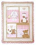 Baby Cot Bedspread- Tender Heart