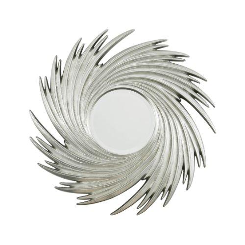 Premier-Housewares-Espejo-con-formas-de-sol-color-plateado-975-Cm